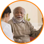Senior Home Care in-home consultation.