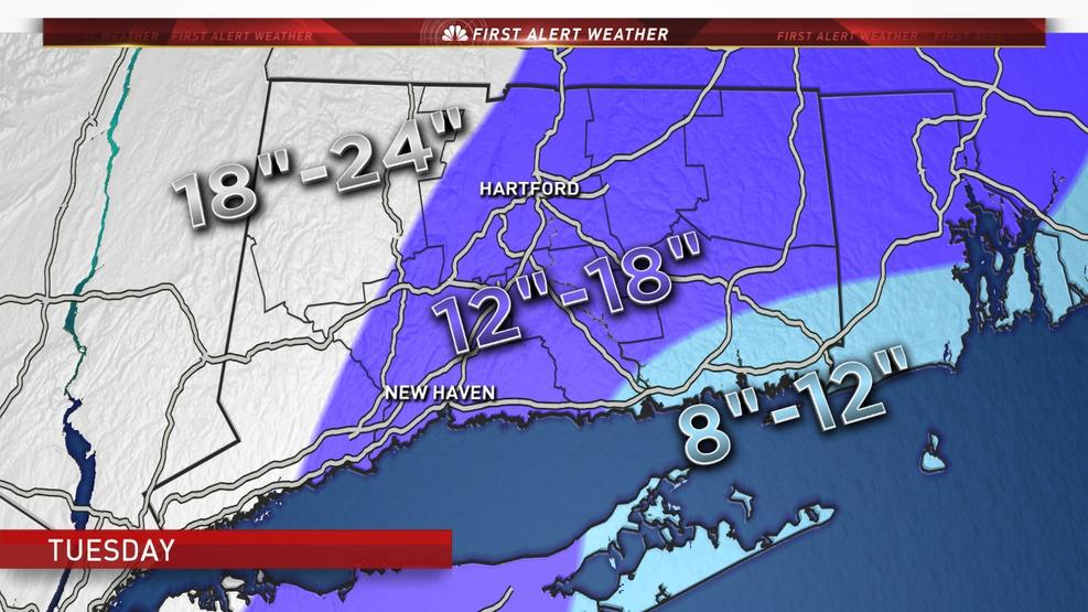Weather Alert: Nor'Easter Arriving Tuesday 3/14