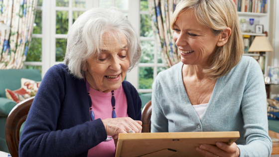 We can help care for mom. Companions Forever is your senior care service.com