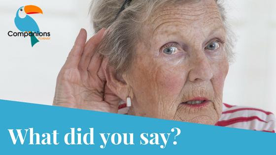 Hearing Loss in Seniors tips YourSeniorCareService.com
